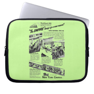The NYC Empire Express 1945 Computer Sleeve