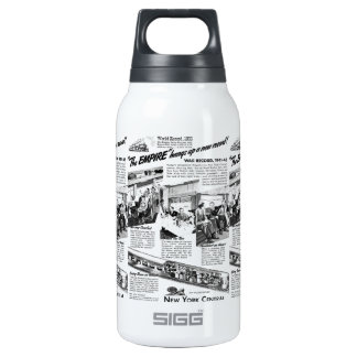 The NYC Empire Express 1945 Insulated Water Bottle