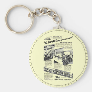 The NYC Empire Express 1945 Keychain