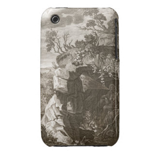 The Nymph Echo Changed into Sound, 1731 (engraving iPhone 3 Case
