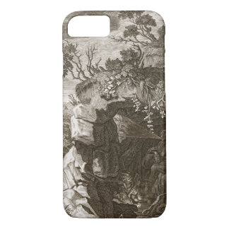 The Nymph Echo Changed into Sound, 1731 (engraving iPhone 7 Case