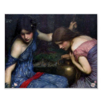 The Nymphs Finding Orpheus Poster