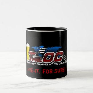 The.O.C Mug, Ave-it Two-Tone Coffee Mug