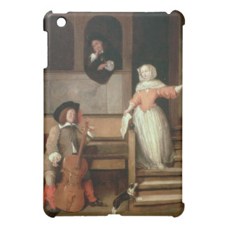 The o Player, c.1700 (oil on canvas) Case For The iPad Mini