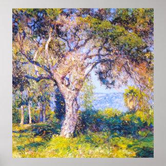 The Oak, Guy Rose Poster