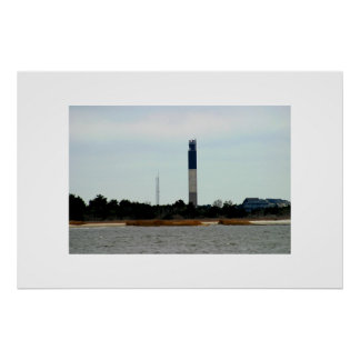 The Oak Island Lighthouse Poster