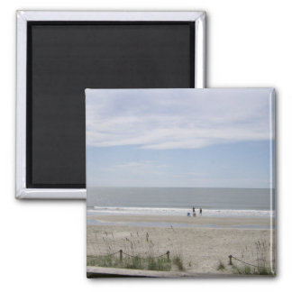 The Oak Island Ocean View Magnets
