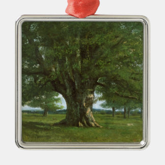 The Oak of Flagey, called Vercingetorix Metal Ornament