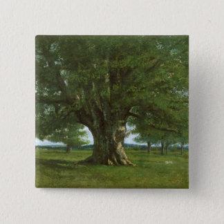 The Oak of Flagey, called Vercingetorix Pinback Button