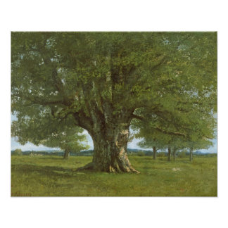 The Oak of Flagey, called Vercingetorix Poster