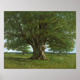 The Oak of Flagey called Vercingetorix Posters