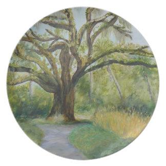 THE OAK TREE AT WASHINGTON OAKS Plate