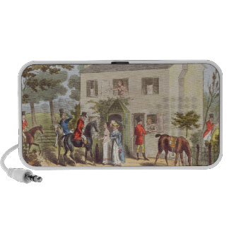 The Oakland Cottages, Cheltenham, or Fox Hunters a Portable Speaker
