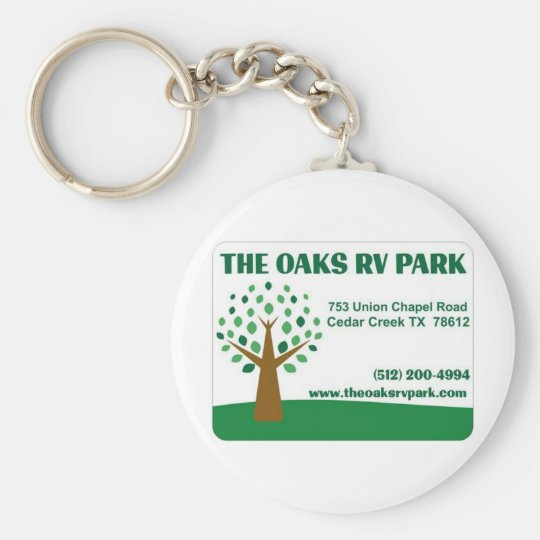 The Oaks RV Park Keychain