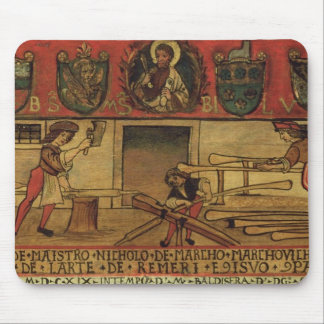 The Oar Makers (panel) Mouse Pad