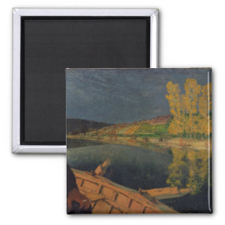 The Oarsman, 1897 2 Inch Square Magnet