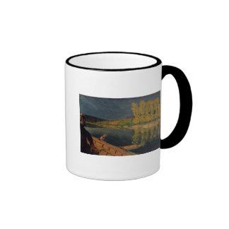 The Oarsman, 1897 Ringer Coffee Mug