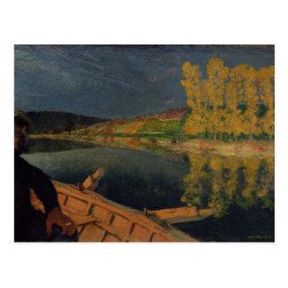 The Oarsman, 1897 Postcard