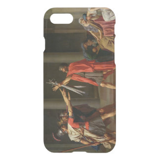 The Oath of Horatii, 1784 iPhone 7 Case