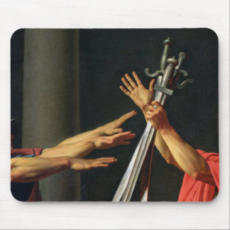 The Oath of Horatii, 1784 Mouse Pad