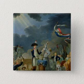 The Oath of Lafayette Pinback Button