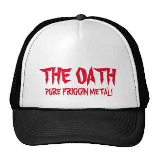 The Oath with Johnny Thrash Trucker Cap Trucker Hat