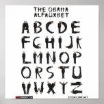The Obama Alfauxbet Print