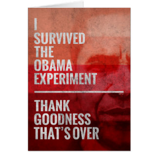 The Obama Experiment Card