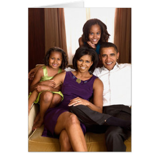 The Obama Family Cards