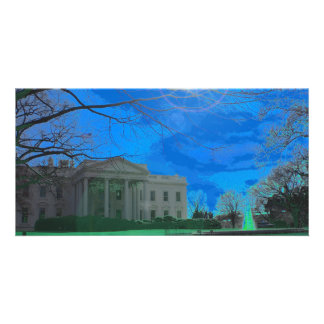 The Obama Residence Photo Greeting Card