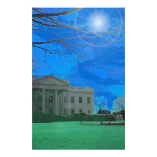 The Obama Residence Stationery Paper
