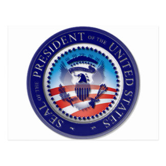The Obama Seal Postcard