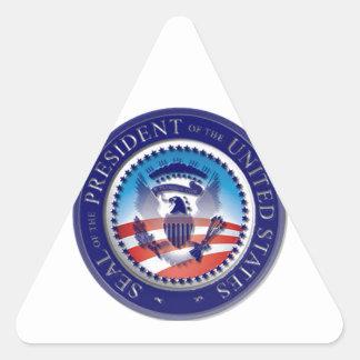 The Obama Seal Triangle Sticker