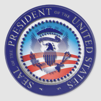 The Obama Seal Round Stickers