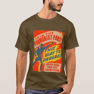The Obamanist Party T-shirt