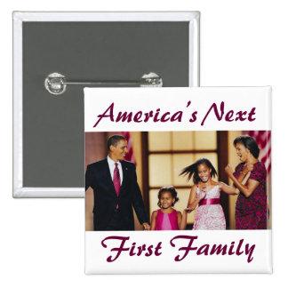The Obamas America s Next 1st Family Button