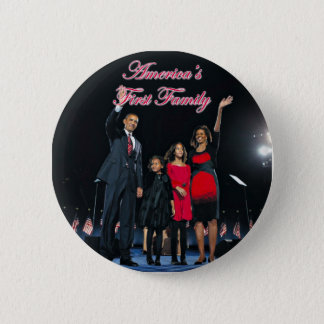 The Obamas: America's 1st Family Button