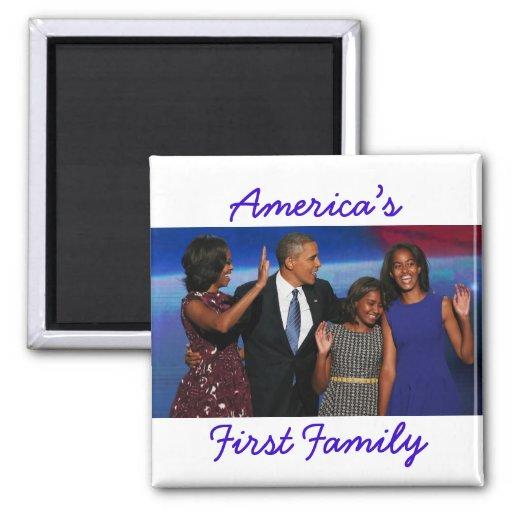 The Obamas: America's 1st Family Magnet