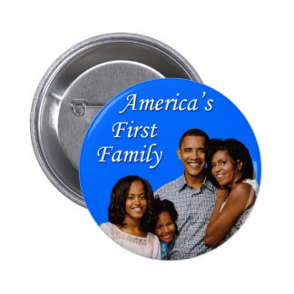 The Obamas: America's First Family Button