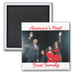 The Obamas: America's Next 1st Fam... - Customized Magnets