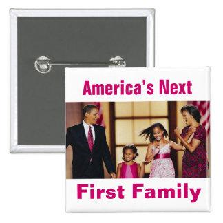 The Obamas: America's Next 1st Family Button