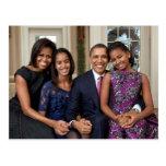 The Obamas Postcard