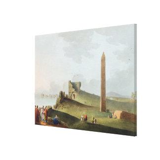 The Obelisks at Alexandria, called Cleopatra's Nee Canvas Print