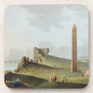 The Obelisks at Alexandria, called Cleopatra's Nee Beverage Coasters