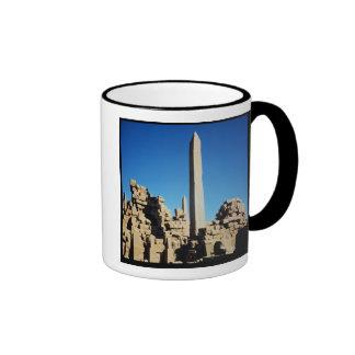 The Obelisks of Tuthmosis I  and Hatshepsut Coffee Mug
