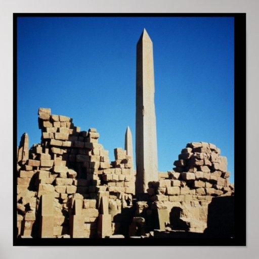 The Obelisks of Tuthmosis I  and Hatshepsut Poster