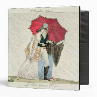 The Obliging Umbrella, plate 40 from 'Le Bon Genre 3 Ring Binder