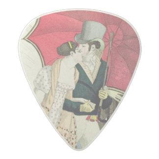 The Obliging Umbrella, plate 40 from 'Le Bon Genre Acetal Guitar Pick