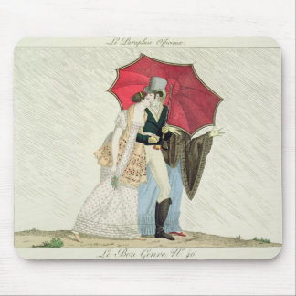 The Obliging Umbrella, plate 40 from 'Le Bon Genre Mouse Pad