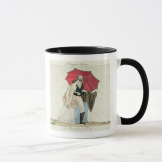 The Obliging Umbrella, plate 40 from 'Le Bon Genre Mug